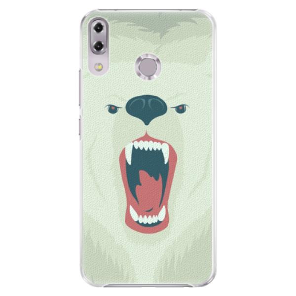 Plastové pouzdro iSaprio - Angry Bear - Asus ZenFone 5Z ZS620KL