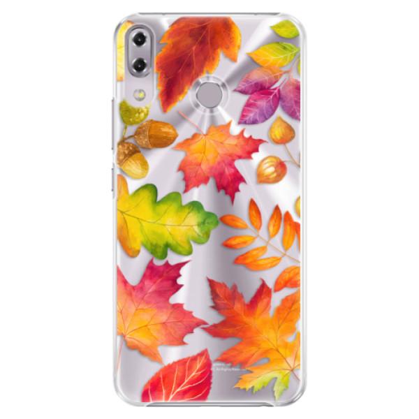 Plastové pouzdro iSaprio - Autumn Leaves 01 - Asus ZenFone 5Z ZS620KL