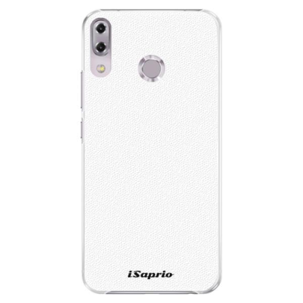 Plastové pouzdro iSaprio - 4Pure - bílý - Asus ZenFone 5Z ZS620KL