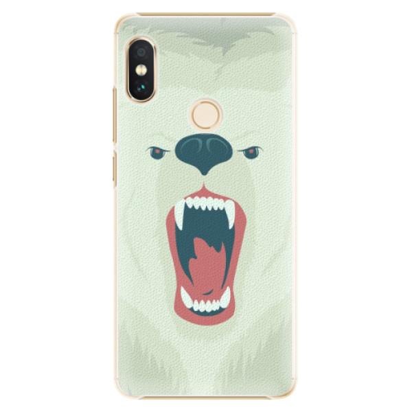 Plastové pouzdro iSaprio - Angry Bear - Xiaomi Redmi Note 5