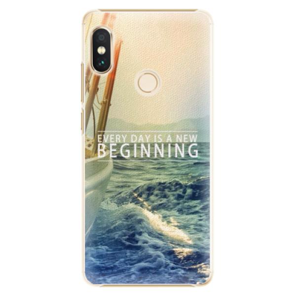 Plastové pouzdro iSaprio - Beginning - Xiaomi Redmi Note 5