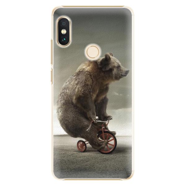 Plastové pouzdro iSaprio - Bear 01 - Xiaomi Redmi Note 5