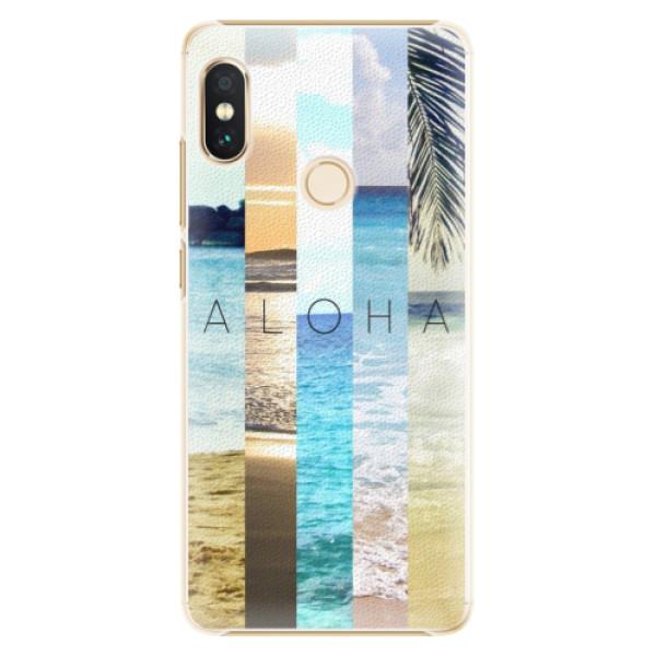 Plastové pouzdro iSaprio - Aloha 02 - Xiaomi Redmi Note 5