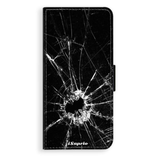 Flipové pouzdro iSaprio - Broken Glass 10 - Huawei P20 Pro