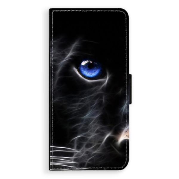 Flipové pouzdro iSaprio - Black Puma - Huawei P20 Pro