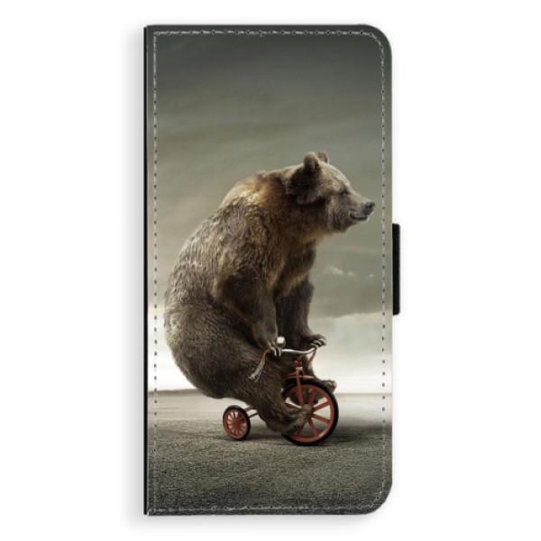 Flipové pouzdro iSaprio - Bear 01 - Huawei P20