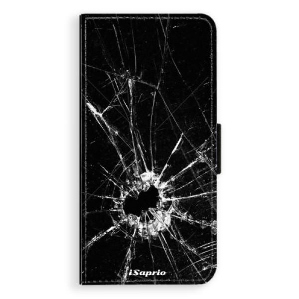 Flipové pouzdro iSaprio - Broken Glass 10 - Huawei Honor 10