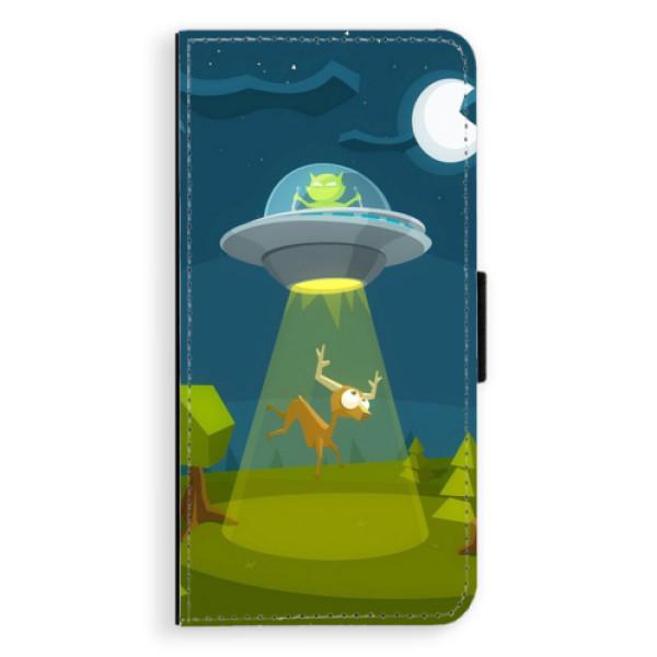 Flipové pouzdro iSaprio - Alien 01 - Samsung Galaxy S9