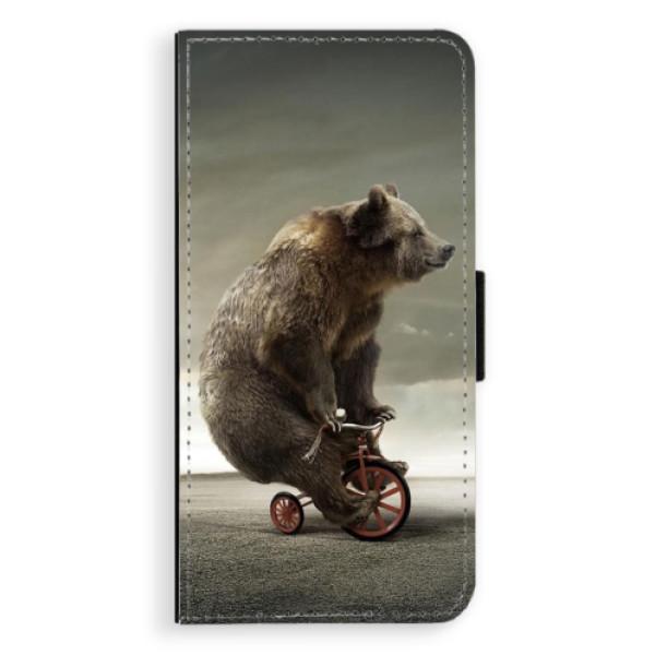 Flipové pouzdro iSaprio - Bear 01 - Samsung Galaxy S9