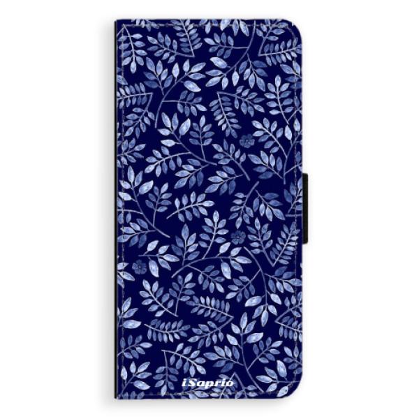 Flipové pouzdro iSaprio - Blue Leaves 05 - Samsung Galaxy S9 Plus