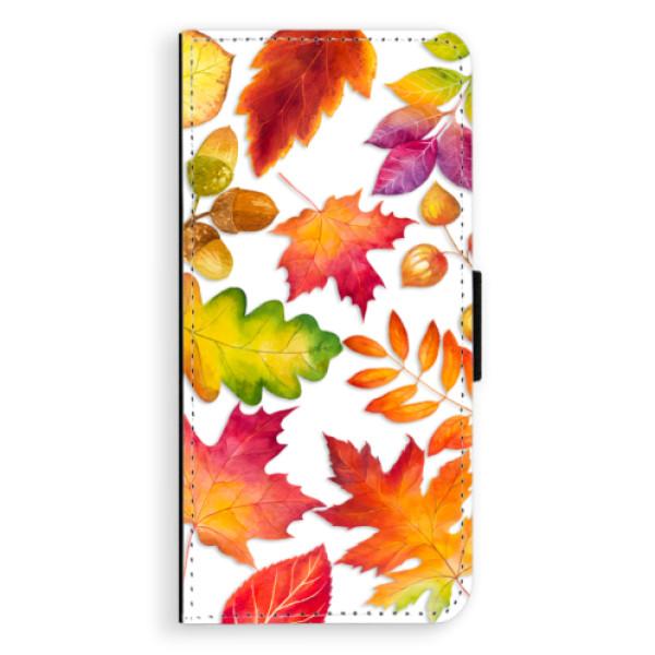 Flipové pouzdro iSaprio - Autumn Leaves 01 - Samsung Galaxy S9 Plus