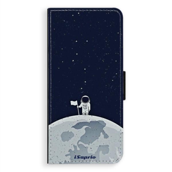 Levně Flipové pouzdro iSaprio - On The Moon 10 - Samsung Galaxy A8 Plus