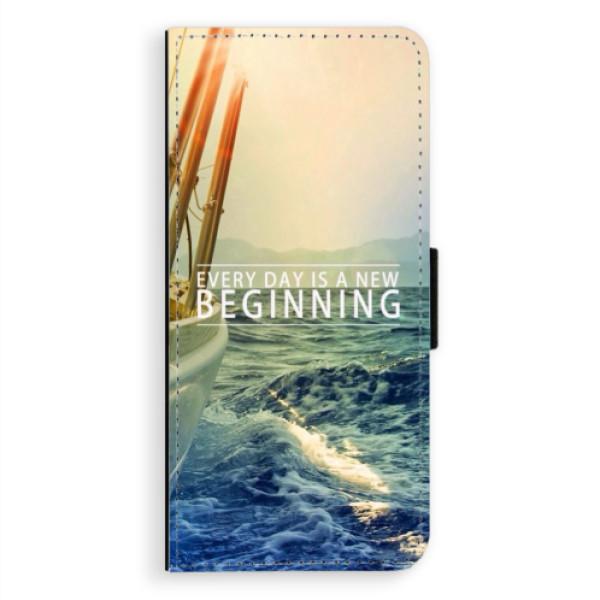 Flipové pouzdro iSaprio - Beginning - Samsung Galaxy A8 Plus