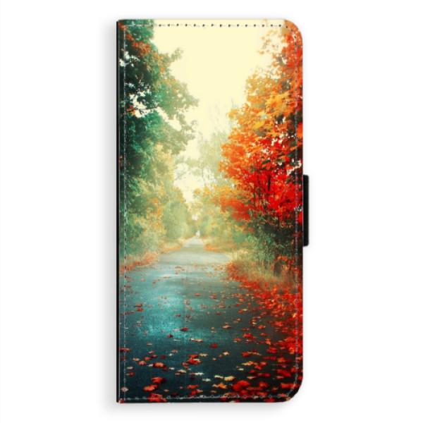 Flipové pouzdro iSaprio - Autumn 03 - Samsung Galaxy A8 Plus