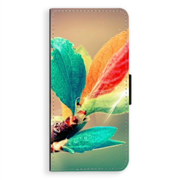 Flipové pouzdro iSaprio - Autumn 02 - Samsung Galaxy A8 Plus