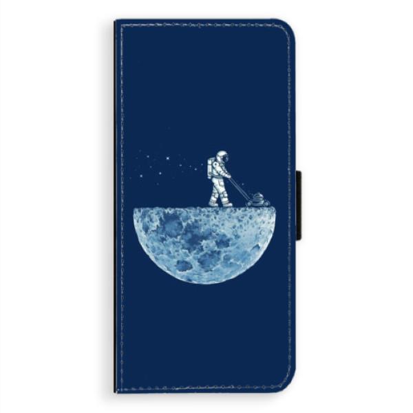 Levně Flipové pouzdro iSaprio - Moon 01 - Samsung Galaxy A8 Plus