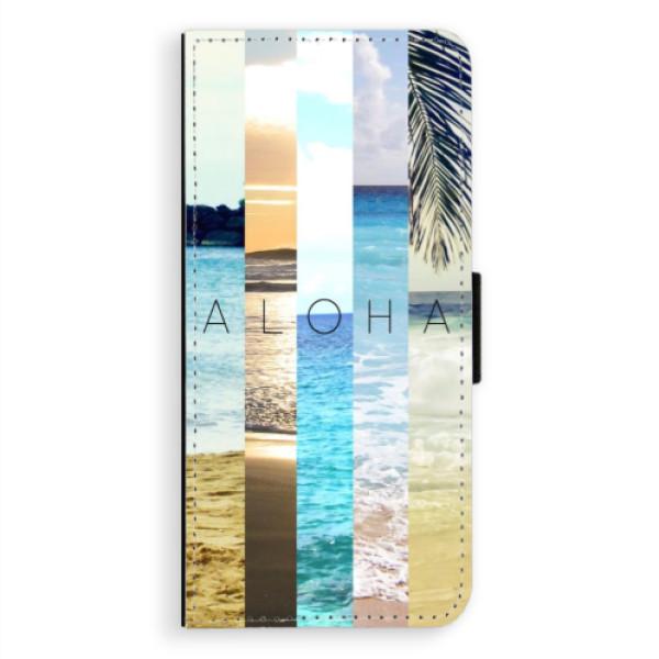 Flipové pouzdro iSaprio - Aloha 02 - Samsung Galaxy A8 Plus
