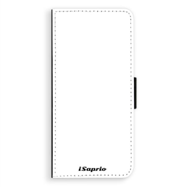Flipové pouzdro iSaprio - 4Pure - bílý - Samsung Galaxy A8 Plus