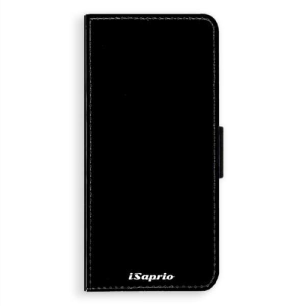 Flipové pouzdro iSaprio - 4Pure - černý - Samsung Galaxy A8 Plus