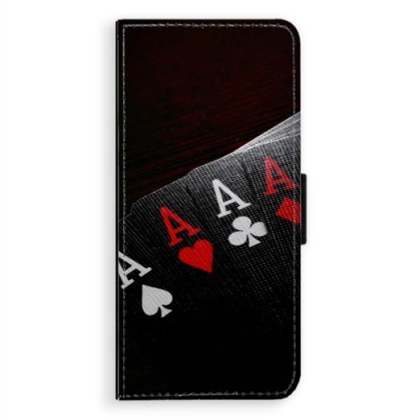 Flipové pouzdro iSaprio - Poker - Samsung Galaxy A8 Plus