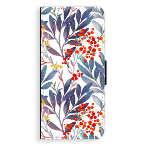 Flipové pouzdro iSaprio - Rowanberry - Samsung Galaxy A8 Plus