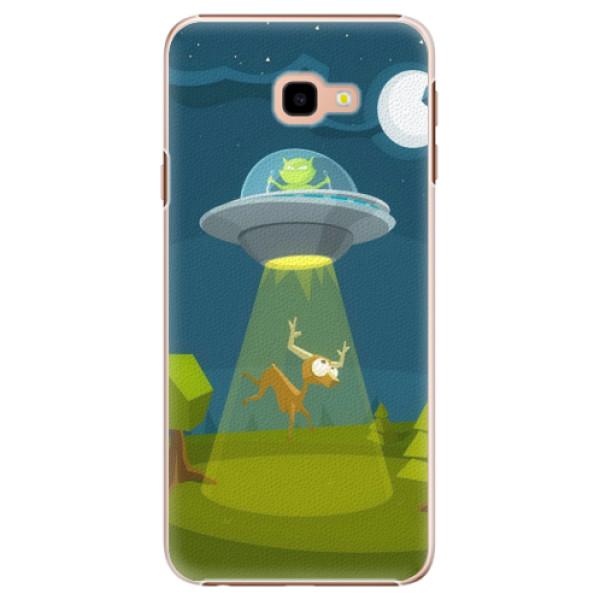 Plastové pouzdro iSaprio - Alien 01 - Samsung Galaxy J4+