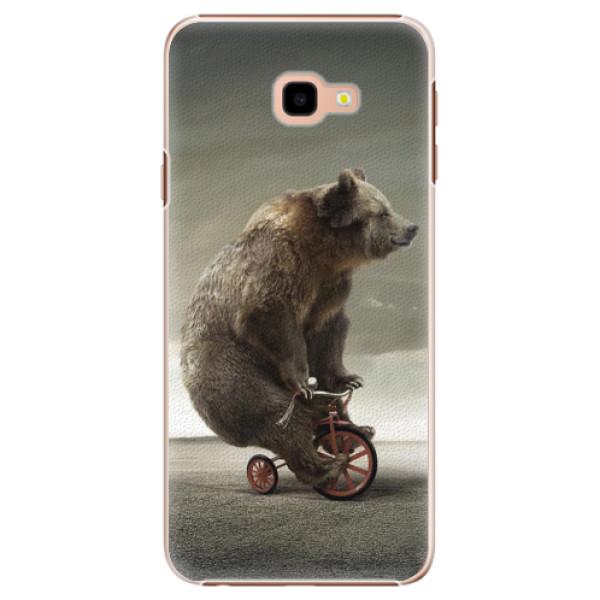 Plastové pouzdro iSaprio - Bear 01 - Samsung Galaxy J4+