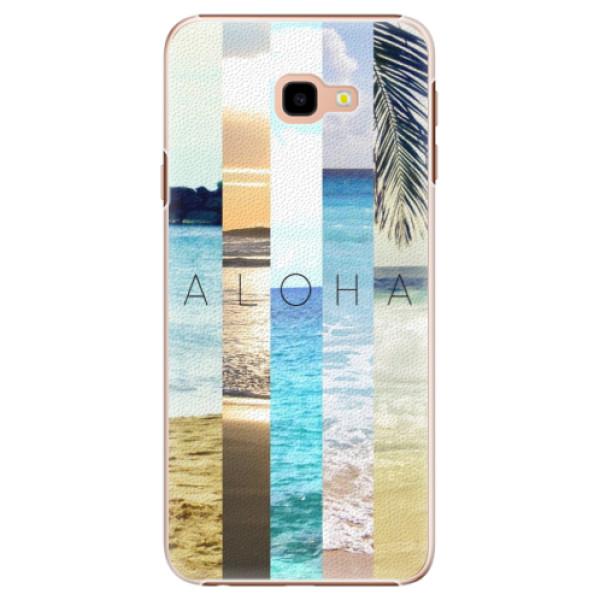 Plastové pouzdro iSaprio - Aloha 02 - Samsung Galaxy J4+