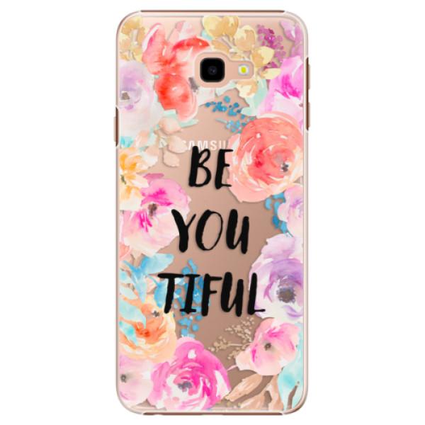 Plastové pouzdro iSaprio - BeYouTiful - Samsung Galaxy J4+