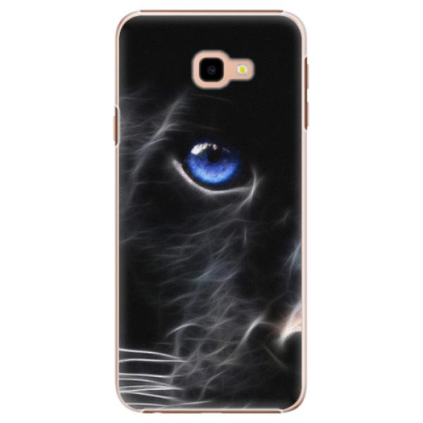 Plastové pouzdro iSaprio - Black Puma - Samsung Galaxy J4+