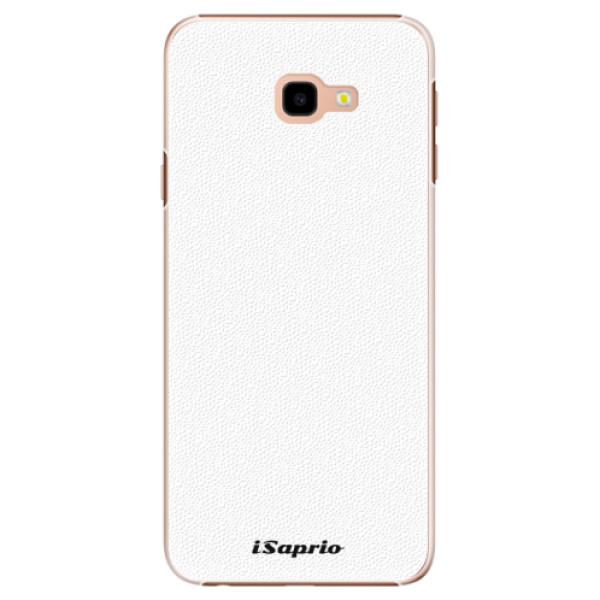 Plastové pouzdro iSaprio - 4Pure - bílý - Samsung Galaxy J4+