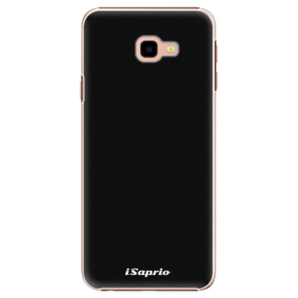 Plastové pouzdro iSaprio - 4Pure - černý - Samsung Galaxy J4+