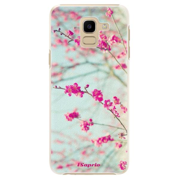 Plastové pouzdro iSaprio - Blossom 01 - Samsung Galaxy J6