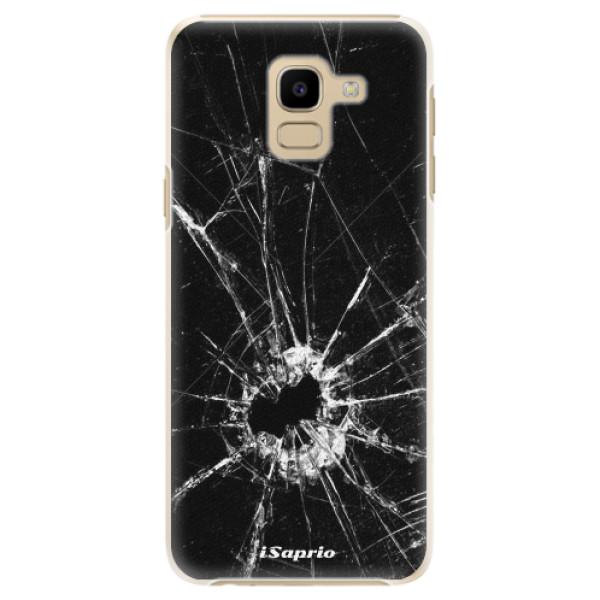Plastové pouzdro iSaprio - Broken Glass 10 - Samsung Galaxy J6