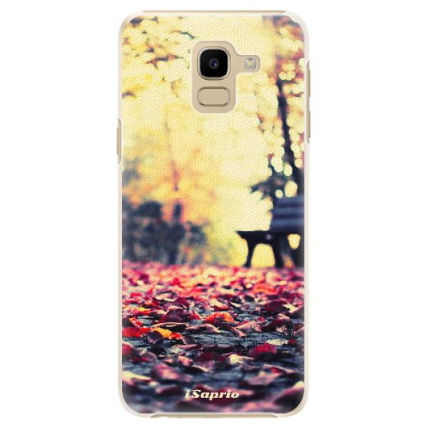 Plastové pouzdro iSaprio - Bench 01 - Samsung Galaxy J6