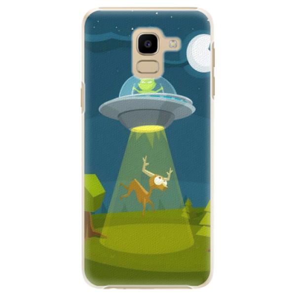 Plastové pouzdro iSaprio - Alien 01 - Samsung Galaxy J6
