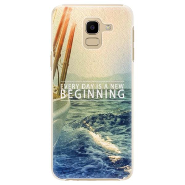 Plastové pouzdro iSaprio - Beginning - Samsung Galaxy J6