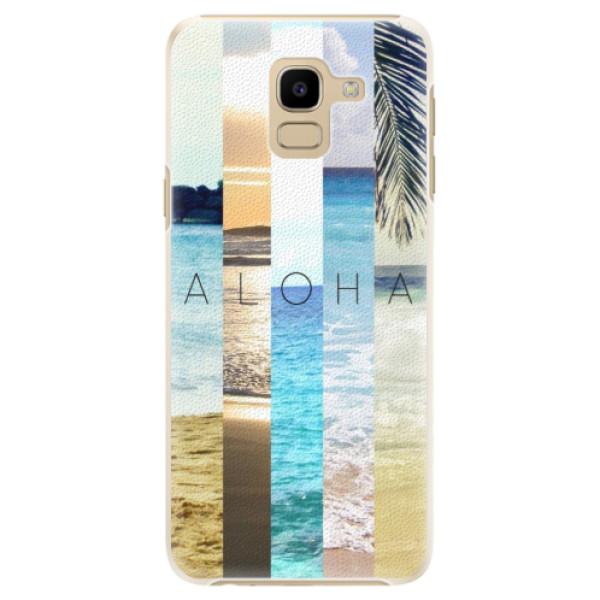 Plastové pouzdro iSaprio - Aloha 02 - Samsung Galaxy J6