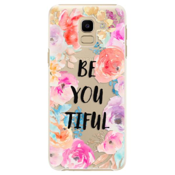 Plastové pouzdro iSaprio - BeYouTiful - Samsung Galaxy J6