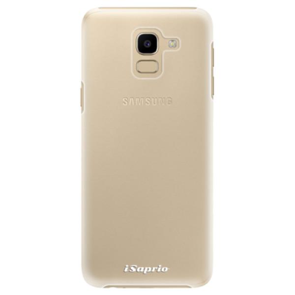 Plastové pouzdro iSaprio - 4Pure - mléčný bez potisku - Samsung Galaxy J6