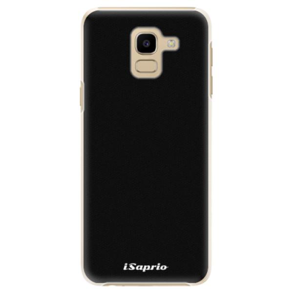 Plastové pouzdro iSaprio - 4Pure - černý - Samsung Galaxy J6