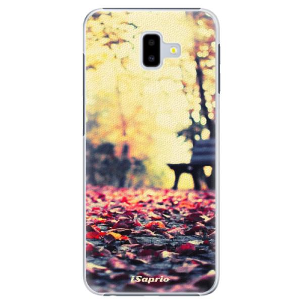 Plastové pouzdro iSaprio - Bench 01 - Samsung Galaxy J6+