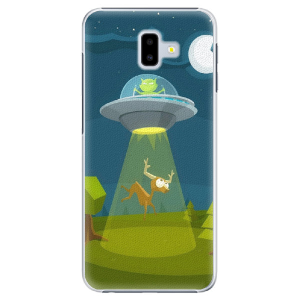 Plastové pouzdro iSaprio - Alien 01 - Samsung Galaxy J6+