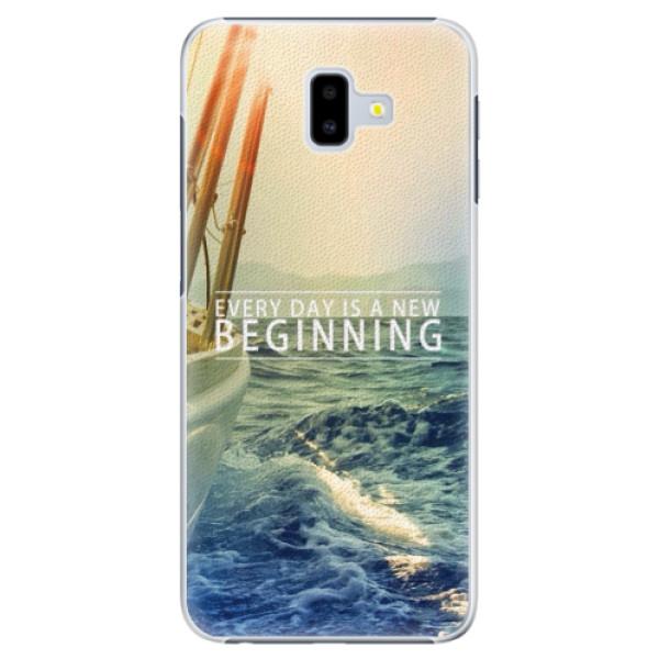 Plastové pouzdro iSaprio - Beginning - Samsung Galaxy J6+