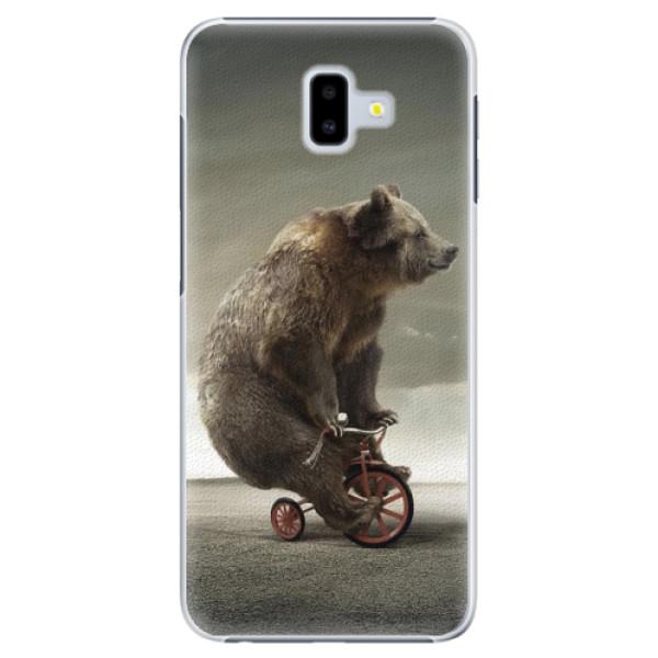 Plastové pouzdro iSaprio - Bear 01 - Samsung Galaxy J6+