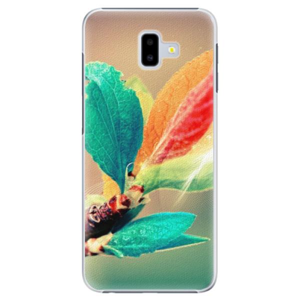 Plastové pouzdro iSaprio - Autumn 02 - Samsung Galaxy J6+