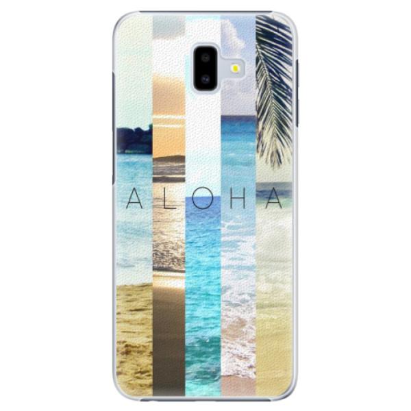 Plastové pouzdro iSaprio - Aloha 02 - Samsung Galaxy J6+