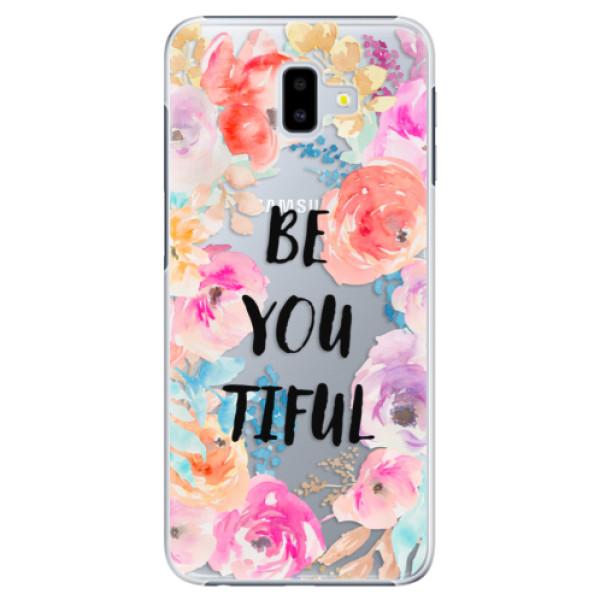 Plastové pouzdro iSaprio - BeYouTiful - Samsung Galaxy J6+
