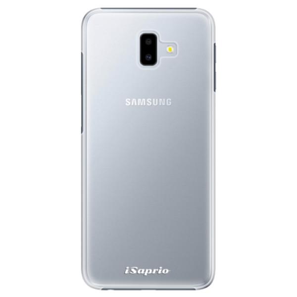 Plastové pouzdro iSaprio - 4Pure - mléčný bez potisku - Samsung Galaxy J6+