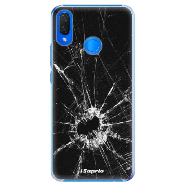 Plastové pouzdro iSaprio - Broken Glass 10 - Huawei Nova 3i